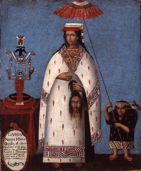 Princesa Inca, Perú, ca.1800