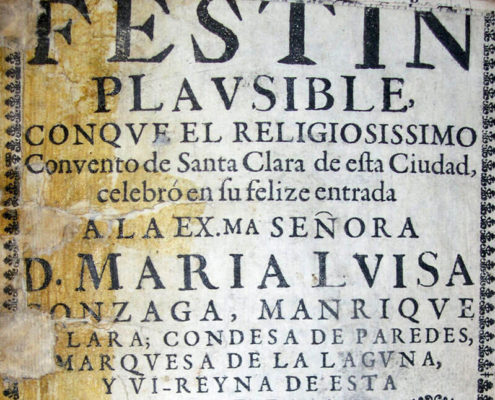 Festín plausible