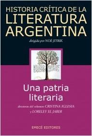 historia critica de la literatura argentina